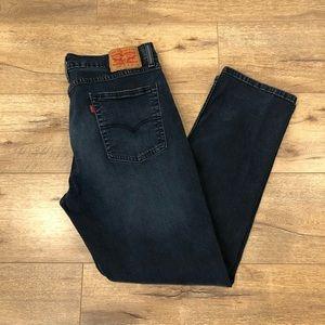 Levi's 514 Men's Dark Wash Jeans in Size 36/30